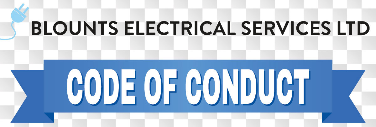 Blounts Electrical Code of Conduct